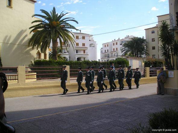 Desfile de la G. Civil