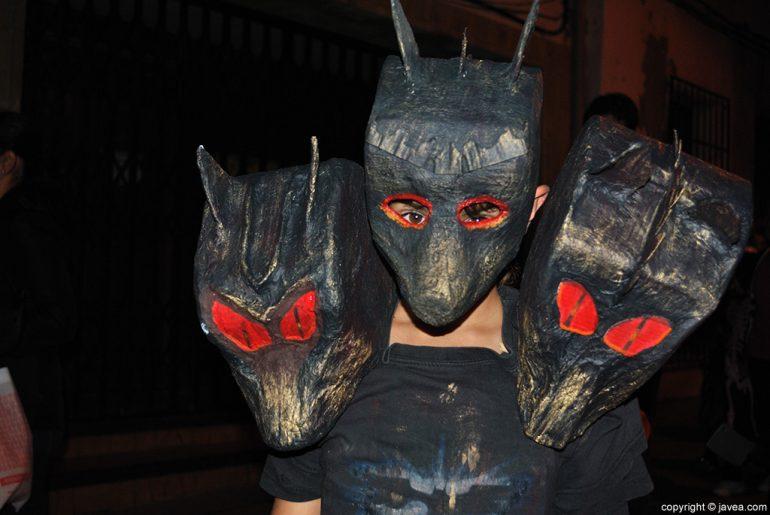 Disfraz de Halloween en Xàbia