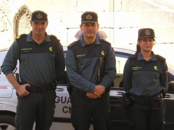 Grupo de la G.Civil que lucha contra la violencia de género