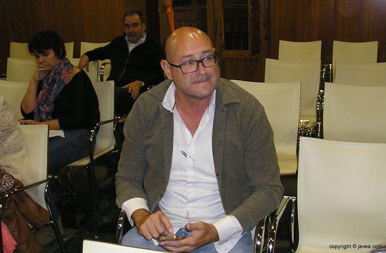 José Luis Henarejos presente en el pleno