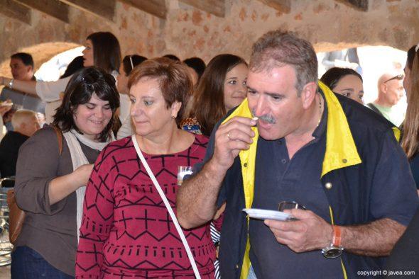 Los ediles Bañuls, Zamora y Luego de Tapeo
