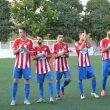 Los jugadores del Jávea saludando a la afición