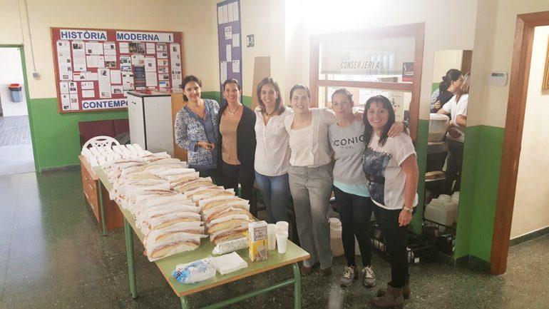 Madres del Ampa del  colegio Vicente Tena de Xàbia