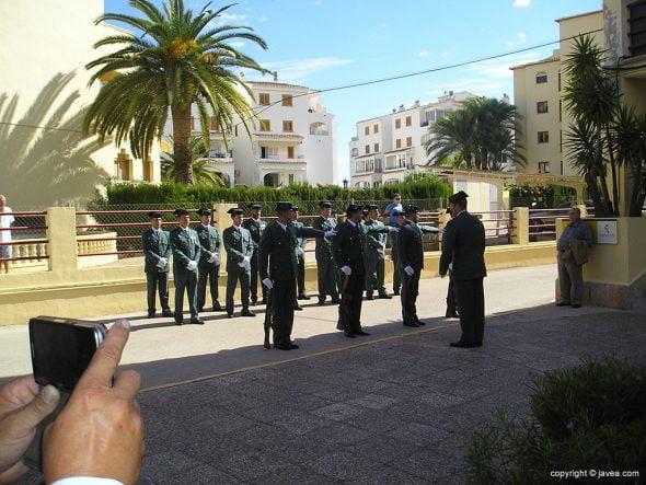 Formación de la Guardia Civil
