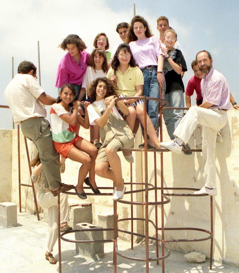 Pirámide escolar de 1989
