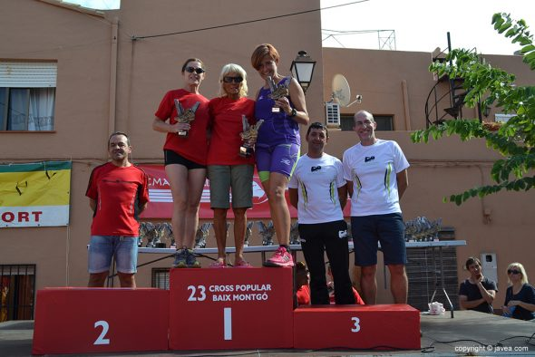 Podium Veteranas  C