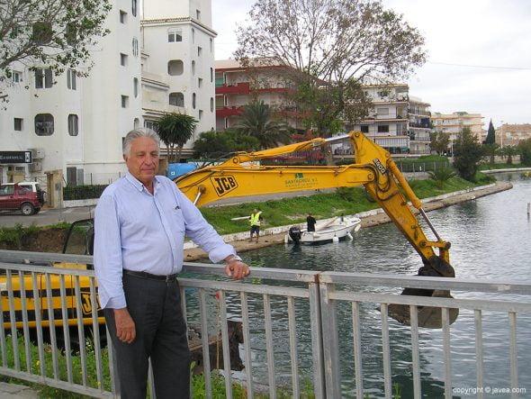 Ramon Ferrer Santacreu a píe de obra