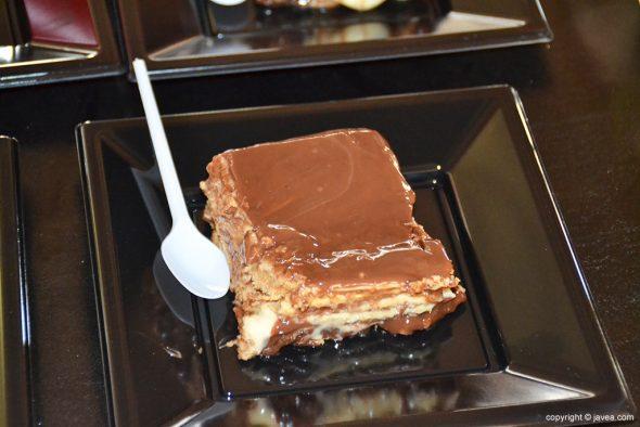 Tarta de Galleta y chocolate Bar Montgó