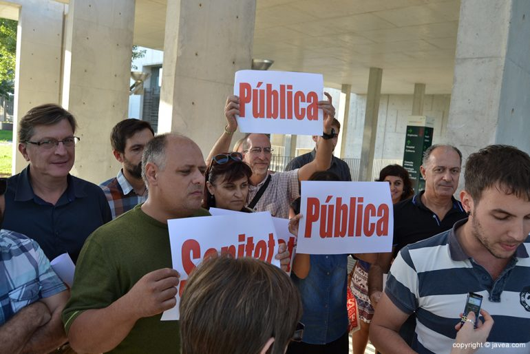 Vicente Colomer estuvo presente en la concentración