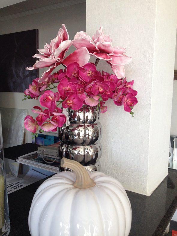 flores rosas Estudio Decor