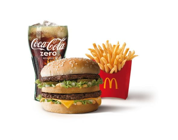 McMenu mediano McDonald's