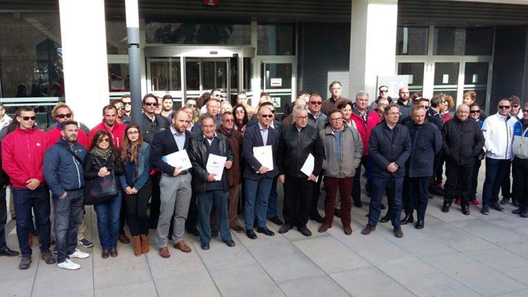 Concentracion de la Asociación de Clubes Náuticos en Conselleria