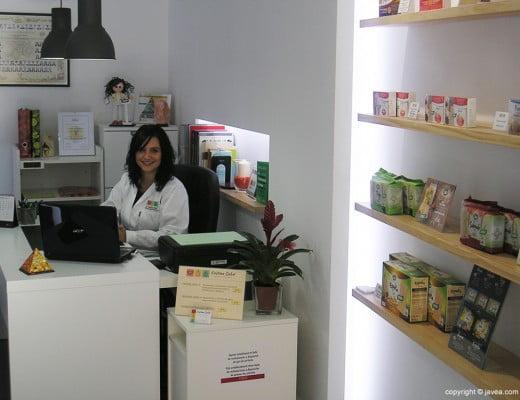 Cristina Salvá en su consulta