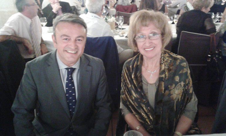 José chulvi con Tere Navarro