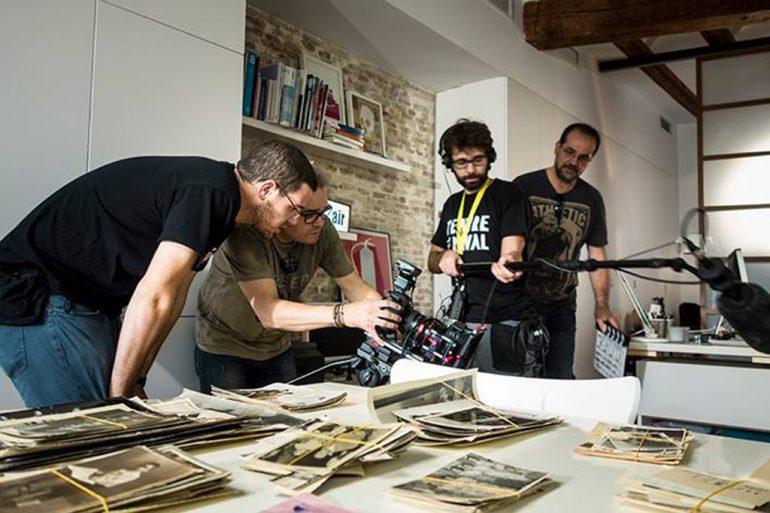 """Grabación del documental """"La caixa negra"""""""
