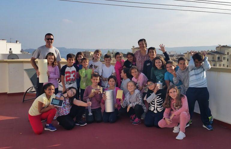 Los alumnos del Port de Xàbia en Meteoxabia