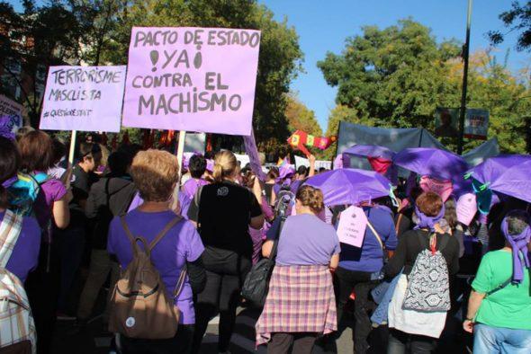 Mujeres en la Marxa 7N