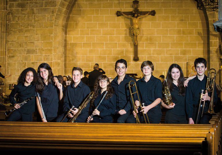 Nuevos músicos de la Banda de Xàbia