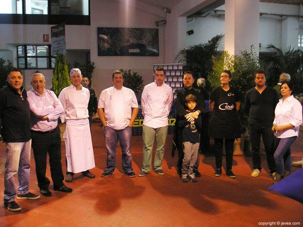 Participantes en Xàbia al Plat 2015