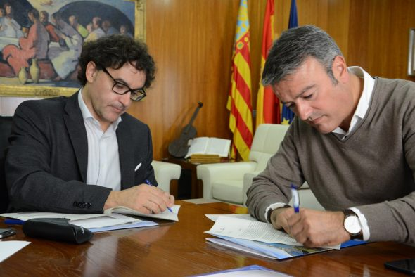 Reunión de Chulvi con el secretario autonómico de Turismo