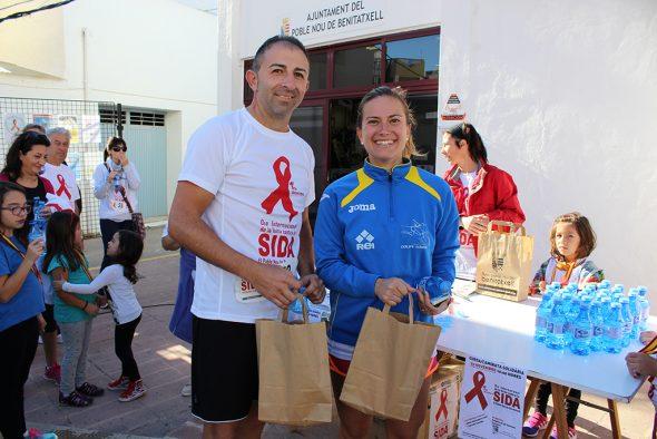 Vicente Pastor y Miriam Gil ganadores en la modalidad de corredores
