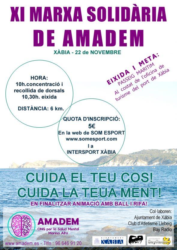 XI Marcha Solidaria AMADEM