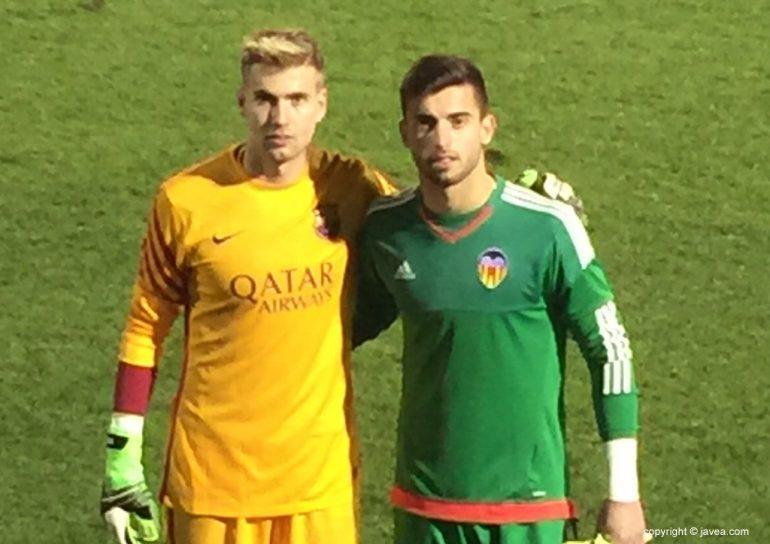 Adrian Ortolá y Antonio Sivera