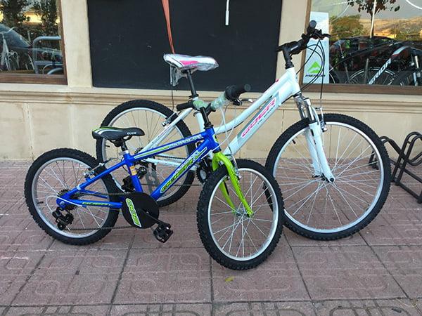 Bici de paseo y de niño Gurugú Bicicletes