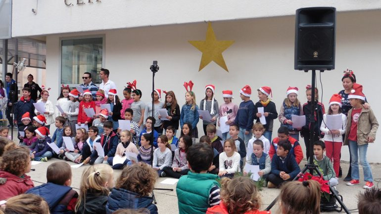 Concurso de villancicos en el colegio Port de Xàbia