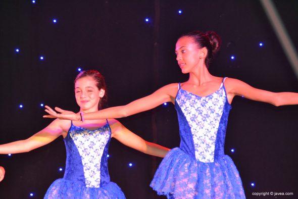 Dos bailarinas clásicas