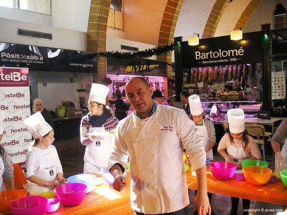 El chef Nazario Cano