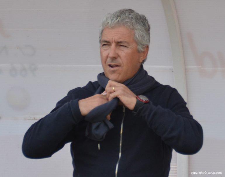 Franco Borrás entrenador del CD Jávea