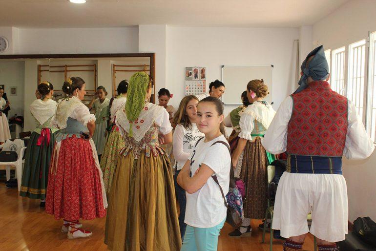 Grupo de la escuela de danza