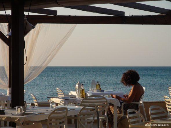 Hotel Noguera Mar terraza libro