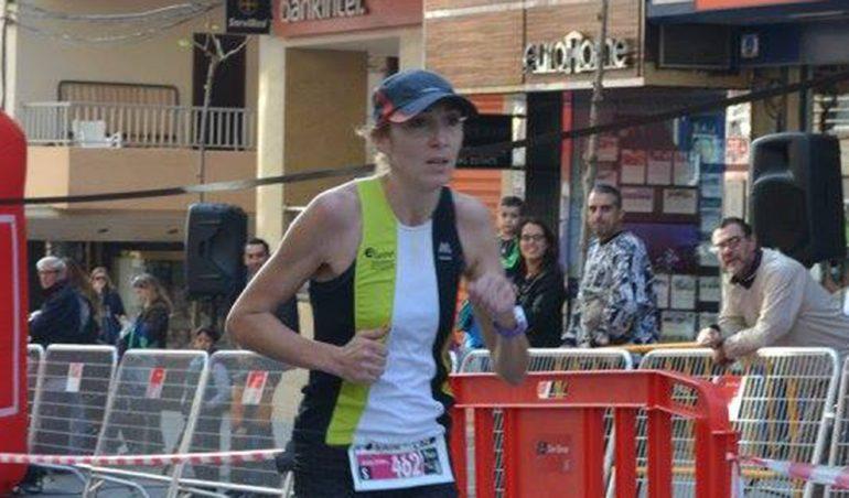 Mª Isabel Ferrer ganadora de la San Silvestre de Calp