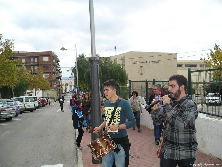 Música en ruta en el proyecto Pas a Pas
