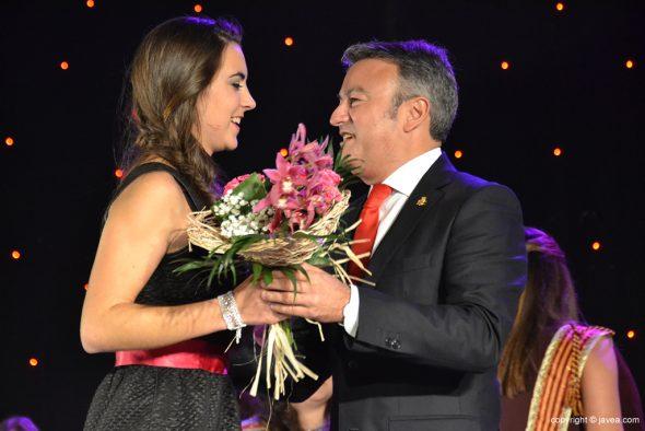 María Buigues con José Chulvi