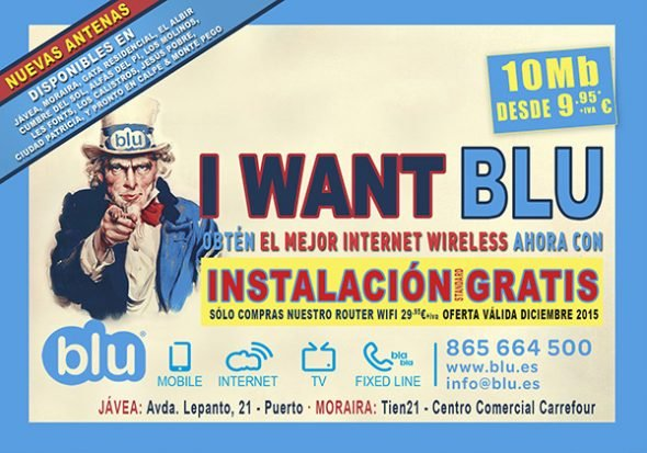 Oferta Internet Blu