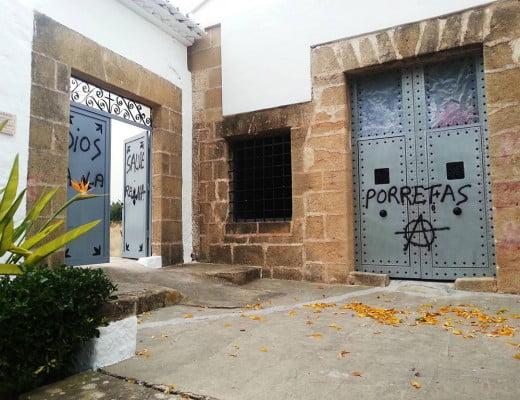 Pintadas cementerio de Xàbia