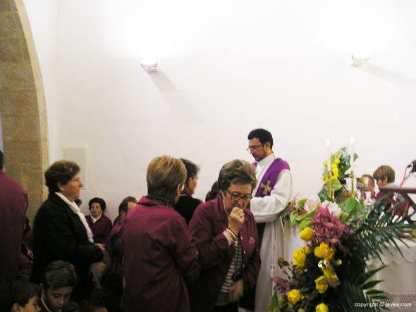 Comunión en la ermita