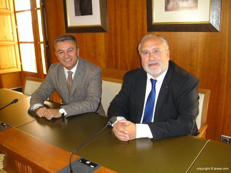Reunión Chulvi con Antoni Such