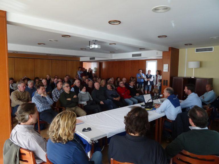 Reunión de socios del CN Jávea