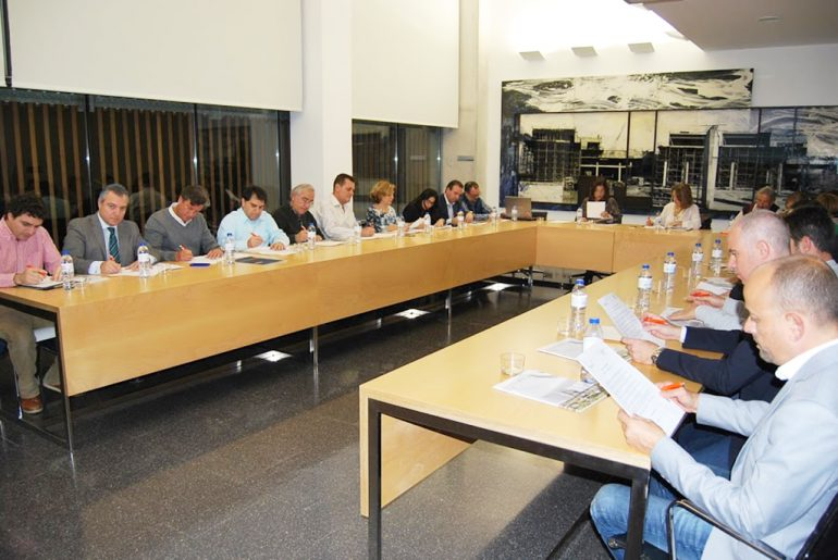Reunión del Cercle empresarial Marina Alta