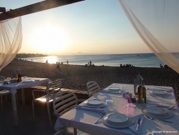 Terraza Hotel Mar Noguera