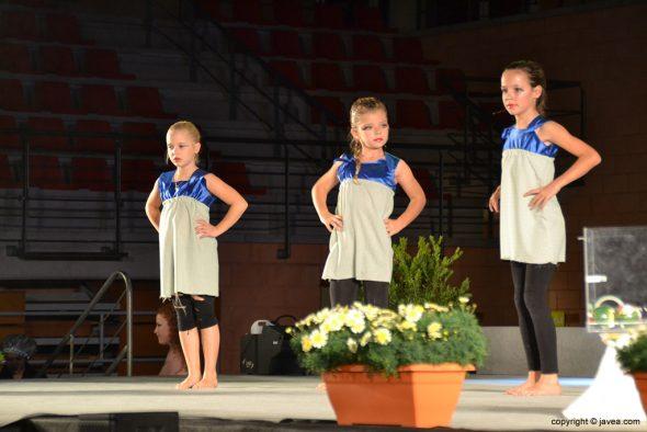 Tres niñas del ballet