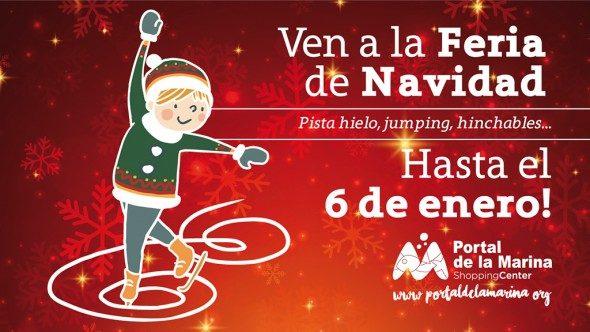 Feria de Navidad en Portal de la Marina