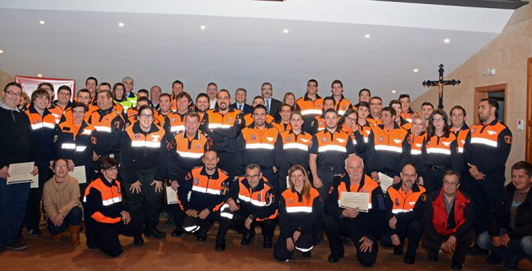 Voluntarios de Protección Civil de la Marina Alta