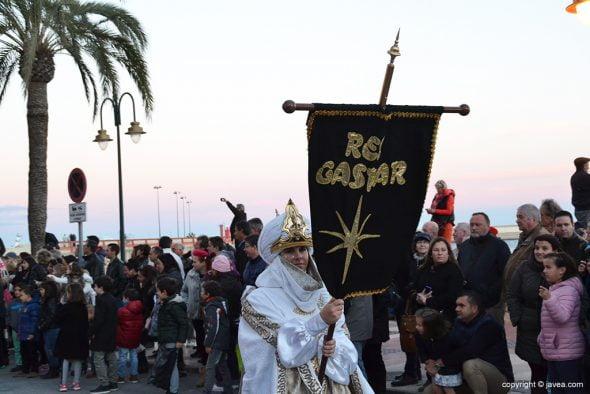 Abanderada Rey Gaspar