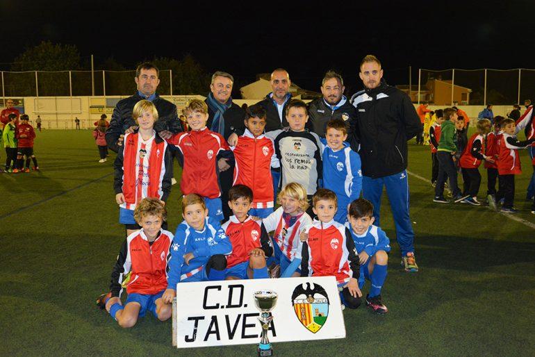 CD Benjamín Jávea subcampeón Benjamín 2º año