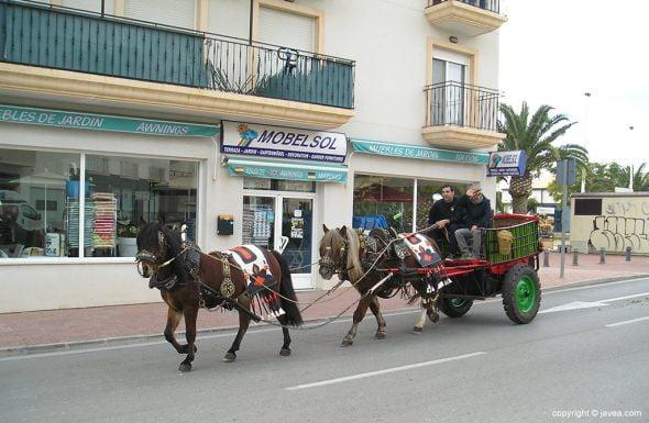 Celebración de San Antón en Xàbia